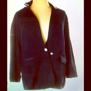 NWT Lauren Ralph Lauren Navy Plus Size Blazer 3X